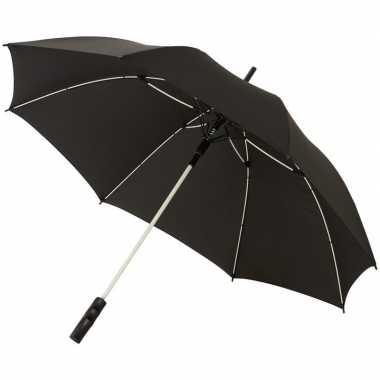 Automatische zwart/witte stormparaplu
