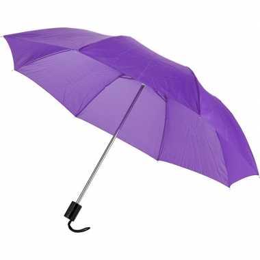 Compacte paraplu paars