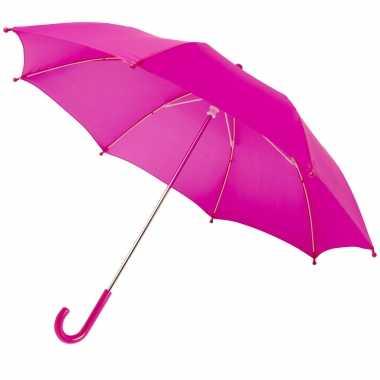 Fuchsia roze storm paraplu kinderen doorsnede stormproof