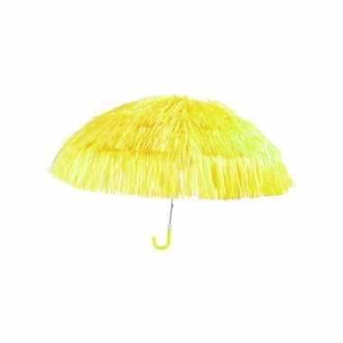 Geel parasolletje