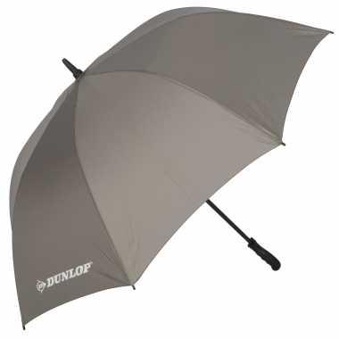 Grijze automatische paraplu doorsnede