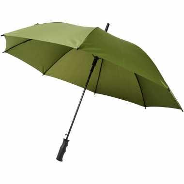 Groene grote storm paraplu doorsnede stormproof