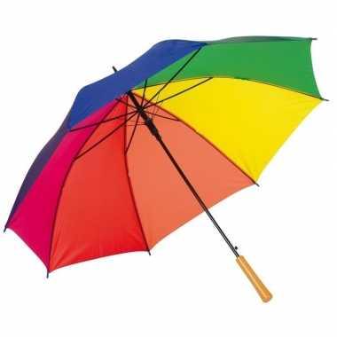Grote paraplu regenboog