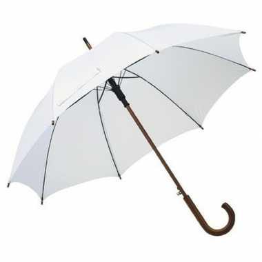Grote paraplu wit