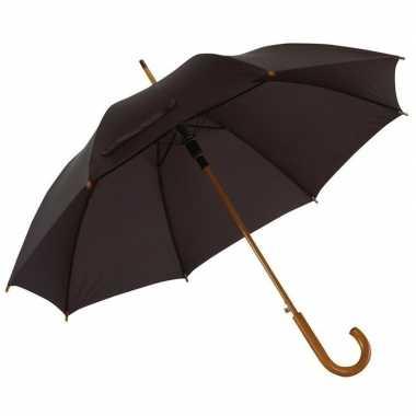 Grote paraplu zwart