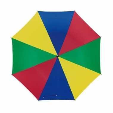 Kinder paraplu vrolijke kleuren
