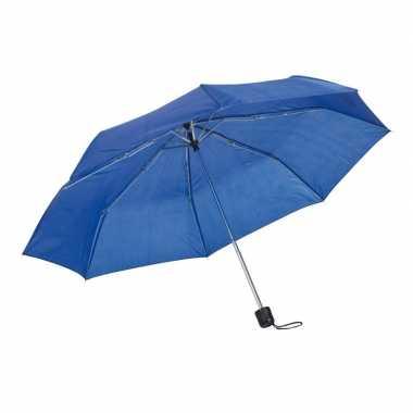 Kleine uitvouwbare paraplu kobalt blauw