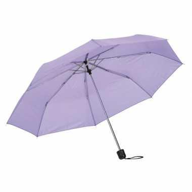 Kleine uitvouwbare paraplu lila paars