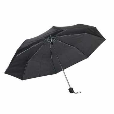 Kleine uitvouwbare paraplu zwart