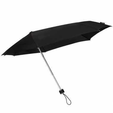 Opvouwbare storm paraplu zwart