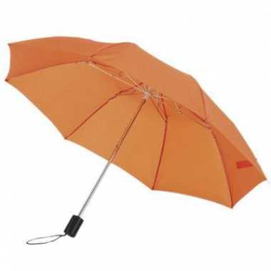 Oranje paraplu tas