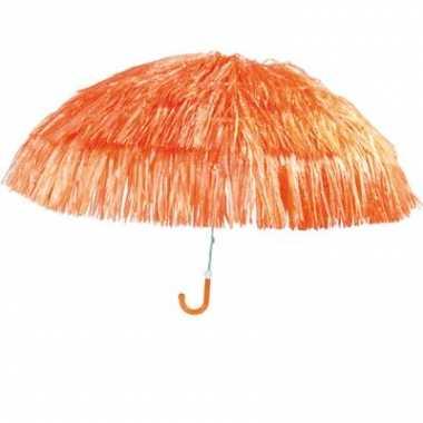 Oranje parasolletje