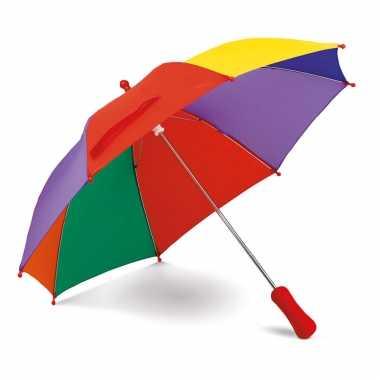 Paraplu gekleurd kinderen manueel