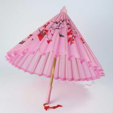 Roze parasol China