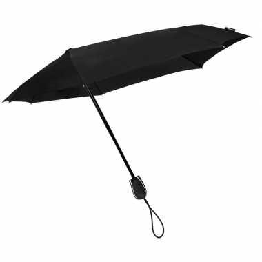 Stormini opvouwbare storm paraplu zwart