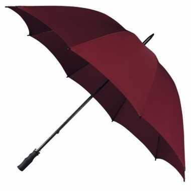 Stormparaplu bordeaux rood
