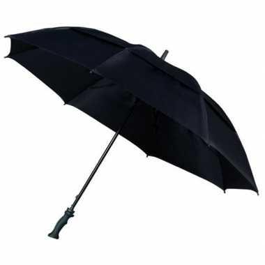 Stormparaplu extra sterk zwart