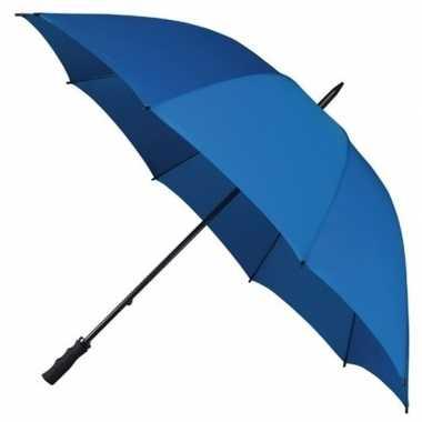 Stormparaplu kobalt blauw