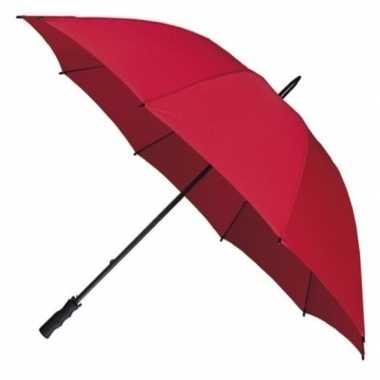 Stormparaplu rood
