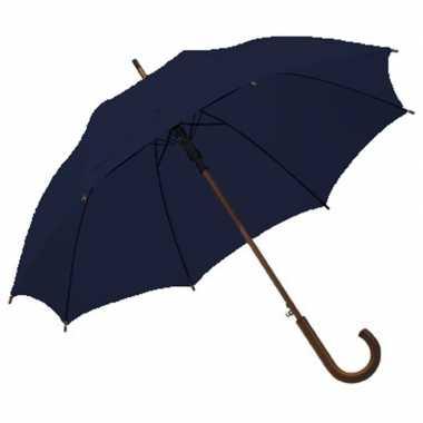 X grote paraplu navy/donkerblauw