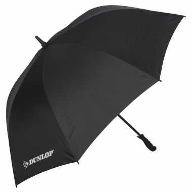 Zwarte automatische paraplu doorsnede